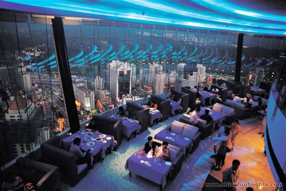 China Shenzhen Panglin Hotel Restaurant and Best New Bar View