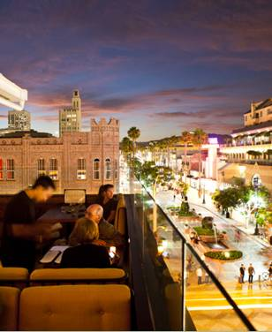 LA Zengo Rooftop Bar Terrace